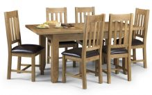 Devon Oak Dining set with 6 chairs